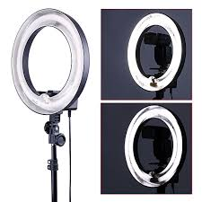 ring light for video camera neewer 14 inches outer 10 inches inner ring light and stand lighting