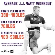 jj watt reloaded how the dominant d end rebuilt his body for the
