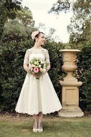 retro wedding dresses picture of tea length wedding dresses