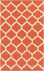 Orange And White Rugs Orange And White Rugs At Rug Studio