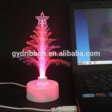 fibre optic decorations 7 ft fiber optic tree