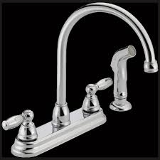 fix leaky kitchen faucet delta kitchen faucet leak repair single