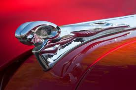 1950 dodge ram ornament photograph by reger