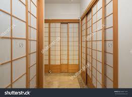 Japanese Room Dividers by Tall Zen Shoji Sliding Door Closet Leading To Bathroom Room
