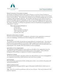 grant proposal letter sample grant proposal cover letter sample