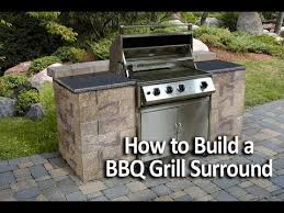 Backyard Bbq Grill Company How To Build A Bbq Grilling Station Or Grill Surround Diy And