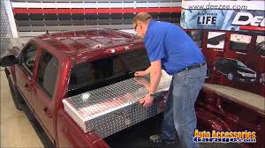 ford crossover truck dee zee low profile single lid crossover truck toolbox youtube