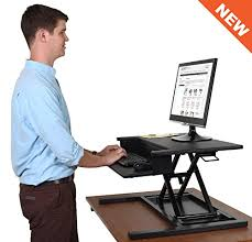 simple standing desk converter airrise pro standing desk converter adjustable height pneumatic