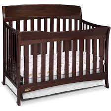 Convertible 4 In 1 Cribs Graco Lennon 4 In 1 Convertible Crib Espresso Walmart