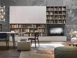 libreria tv parete attrezzata con libreria e tv about day arredamenti sforza