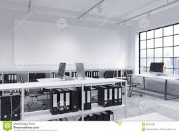 Free Office Furniture Nyc by Open Space Office Stock Illustration Image 65482308