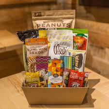 snack gift basket vegan gluten free snacks and gift basket