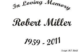 in memory of in memory of script mt bold 6 00 custom vinyl stickers