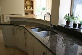 wall of cabinets in kitchen tags sensational black granite