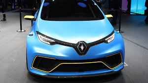 renault zoe e sport concept is an electric 460 hp pocket rocket