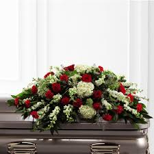 casket spray soulful sincerity casket spray at send flowers