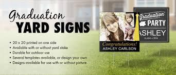 graduation signs yard signs