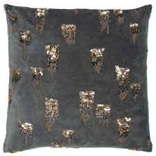 Grey Decorative Pillows Donny Osmond Home Throw Pillows Home Accents The Home Depot