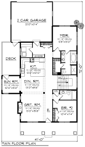 house plan 75260 at familyhomeplans com bungalow cottage country craftsman southern house plan 75260 level one