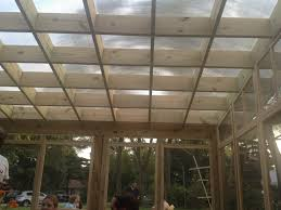 Clear Corrugated Plastic Roof Panel Greenhouse by Roof Stunning Clear Plastic Roof Panels Pergola Roof