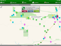 Camping World Locations Map by 10 Great Australian Camping Apps
