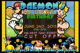 customizable design templates for birthday party invitation