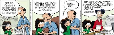 comfortable life father daughter relationship cartoons and comics funny pictures
