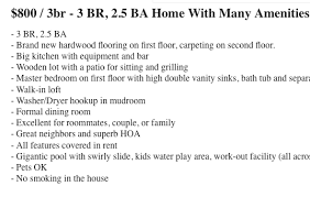 Craigslist One Bedroom Apartment For Rent 5 Warning Signs That A Craigslist Rental Listing Is Probably A
