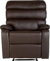 Brown Leather Recliner Chairs The Beautiful Bellamy Faux Leather Recliner Chair In Antique Black
