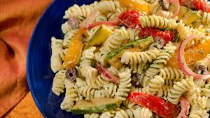 pasta salad salad with vegetables
