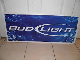 bud light tin signs rare budweiser bud light beer bar sign store large wall display
