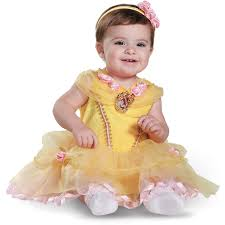 Halloween Costumes Infant Girls Disney Beauty Beast Belle Infant Halloween Costume