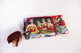 Wonder Woman Accessories Wonder Woman Accessory Sunglasses Protector Wonder Woman Pouch