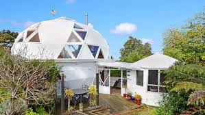 geodome house geodesic dome house near auckland is amazing spaces all time