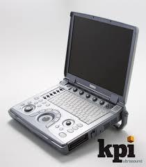 ge logiq e bt09 máquina de ultrassom portátil com 2 sondas de