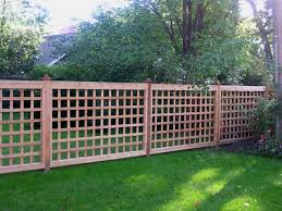 Cheap Fences For Backyard Best 25 Lattice Fence Ideas On Pinterest Privacy Fences