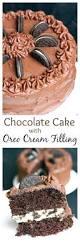 my husband u0027s dream cake chocolate cake with oreo cream filling