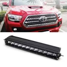 2017 tacoma light bar up toyota tacoma hood scoop 60w cree led light bar