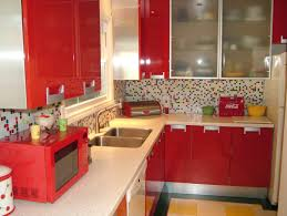 design fabulous simple red small kitchen mosaic kitchen