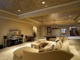 Ideas For Drop Ceilings In Basements Interior Basement Wood Ceiling In Charming Basement Ceiling