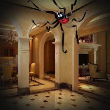 house crypt haunted monster truck halloween house decorations 20 feet giant spider ceiling hanging