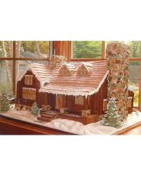 Cracker Style Log Homes Your Best Gingerbread Houses Martha Stewart