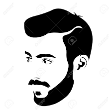 6 828 male haircut stock illustrations cliparts and royalty free