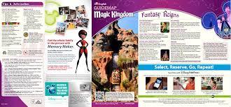 Blizzard Beach Map Updated Magic Kingdom Park Map Available March 2015