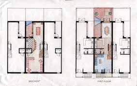 nice 1800 basement 6 rowhouse 20004 jpg house plans