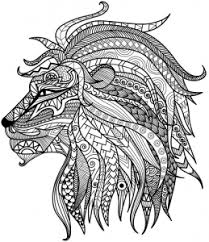 Detailed Coloring Pages Detailed Lion Advanced Coloring Page A To Z Teacher Stuff by Detailed Coloring Pages
