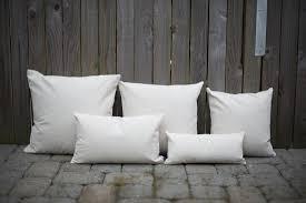 plain natural linen u0026cotton lumbar pillow cover for custom print