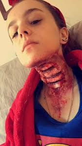 wound halloween makeup 16 best cuts and wounds images on pinterest fake blood wax and