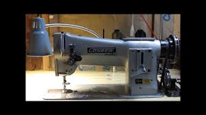 threading a consew 206rb series walking foot industrial sewing