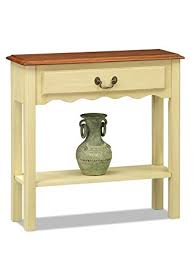 Ivory Console Table Leick Wave Console Table Ivory Finish Kitchen